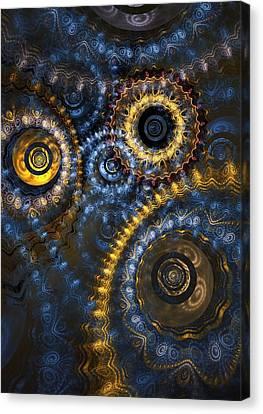 Blue Hour Canvas Print by Martin Capek