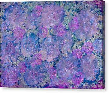 Blue Iridescent Canvas Print by Don  Wright