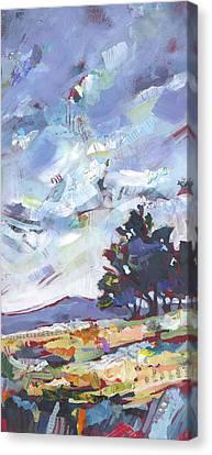 Blue Juniper Canvas Print