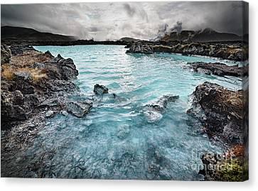 Blue Lagoon Canvas Print by Svetlana Sewell