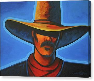 Blue Canvas Print by Lance Headlee