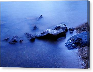 Blue Canvas Print by Larry Ricker