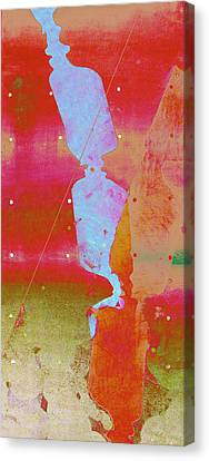 Blue Light Canvas Print by Eileen Shahbazian
