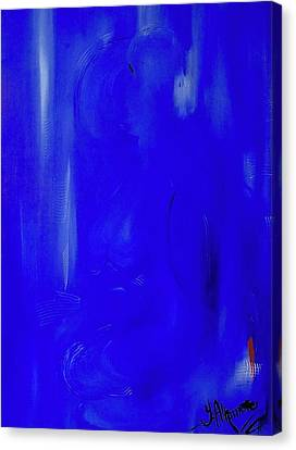 Blue Lust Canvas Print