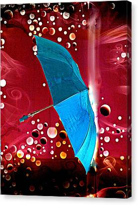 Blue Magic Canvas Print