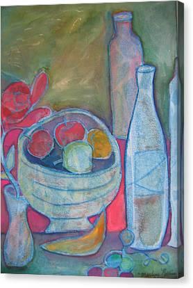 Blue Canvas Print by Marlene Robbins