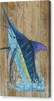 Blue Marlin Canvas Print