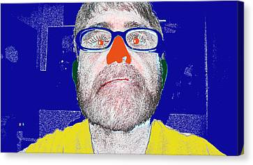 Blue Me Canvas Print by Charlie Spear
