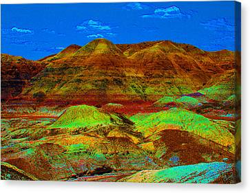 Blue Mesa Dreaming Canvas Print
