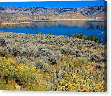 Blue Mesa Reservoir 1 Canvas Print