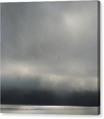 Canvas Print featuring the photograph Blue Mood by Sally Banfill