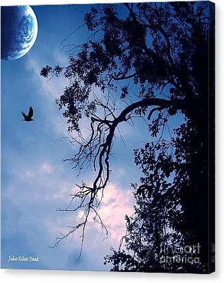 Canvas Print - Blue Moon by Julie Dant