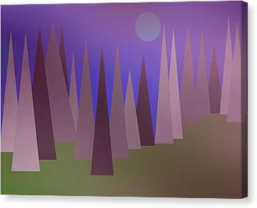 Blue Moon Canvas Print by Kathleen Sartoris