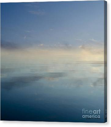 Blue Morning At Glendale Canvas Print by Dave Gordon