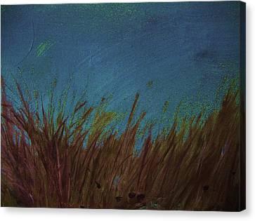 Blue Canvas Print by Nereida Slesarchik Cedeno Wilcoxon