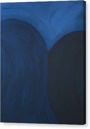Blue No. 1 Canvas Print by Karen Fowler