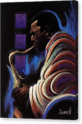 Blue Note Canvas Print by Albert Fennell