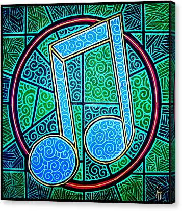 Blue Note Canvas Print by Jim Harris