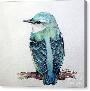 Canvas Print - Blue Nuthatch by Marcia Baldwin