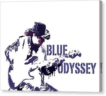 Blue Odyssey Canvas Print