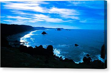 Blue Paradise Canvas Print