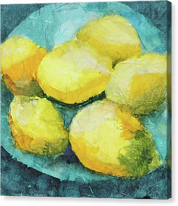 Blue Plate Special Canvas Print
