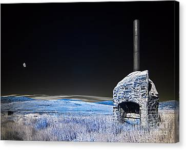 Blue Remembered Hills Canvas Print by Russ Brown