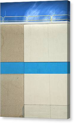 Canvas Print - Blue Ribbon by Ross Odom