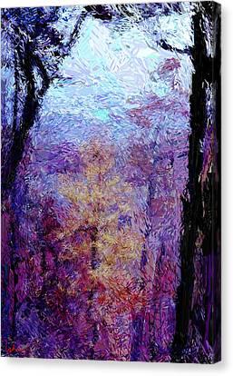 Blue Ridge Autumn Canvas Print by Gerhardt Isringhaus
