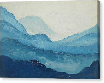 Blue Ridge Canvas Print by D T LaVercombe