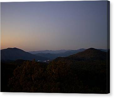 Blue Ridge Dawn Canvas Print