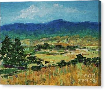 Blue Ridge Canvas Print by Gail Kent