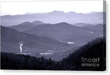 Blue Ridge Impression Canvas Print