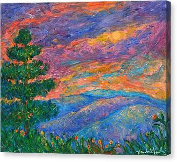 Blue Ridge Jewels Canvas Print