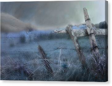 Blue Ridge Morning Canvas Print by Gray  Artus