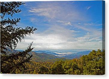 Blue Ridge Mountains - Ap Canvas Print by James Fowler