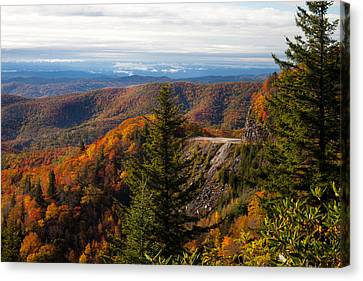 Blue Ridge Parkway Canvas Print by Lena Auxier