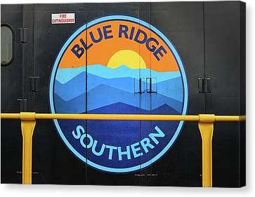 Canvas Print - Blue Ridge Southern Emblem by Mike McGlothlen