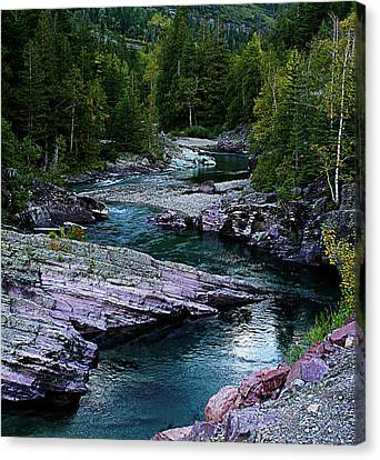 Blue River Canvas Print by Joseph Noonan