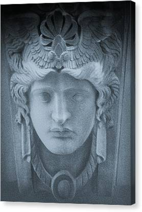 Blue Roman Canvas Print by Tony Grider