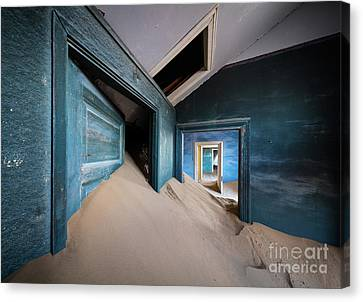 Blue Room Canvas Print by Inge Johnsson