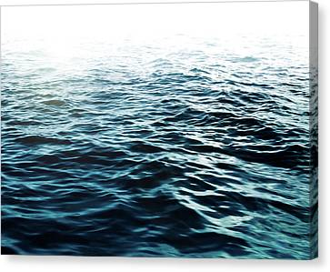 Blue Sea Canvas Print by Nicklas Gustafsson