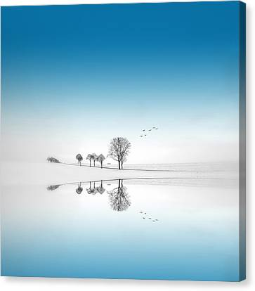 Canvas Print featuring the photograph Blue Season by Philippe Sainte-Laudy