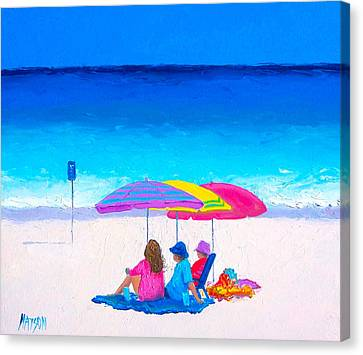 Blue Skies Clear Water Canvas Print