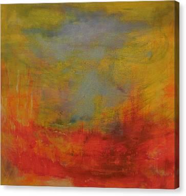 Blue Sky Canvas Print by Karen Lillard