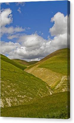 Blue Sky Canvas Print