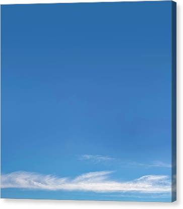 Warm Summer Canvas Print - Blue Sky by Scott Norris