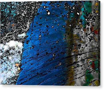 Blue Spectacular Canvas Print