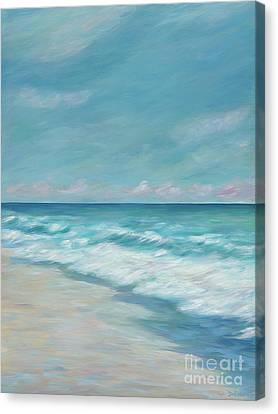 Blue Surf Canvas Print