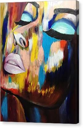 Blue Tears Canvas Print